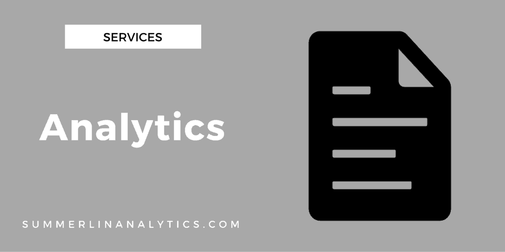 Services - Analytics