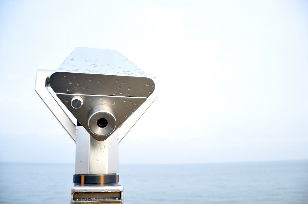 Telescope Binoculars Water Pier
